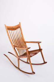 A Full View Of My First Maloof Style Rocking Chair | My ...