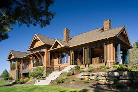 Wondrous One Story Rustic Ranch House Plans 8 20 Gorgeous Craftsman Home Plan Designs