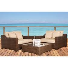 Cast Aluminum Patio Furniture With Sunbrella Cushions by Sunbrella Patio Furniture Outdoor Seating U0026 Dining For Less