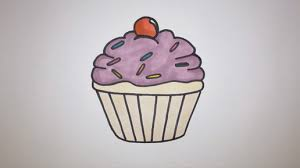 The first thing on our easy things to draw list is a cupcake This is a drawing I did on my channel and it s super easy to do