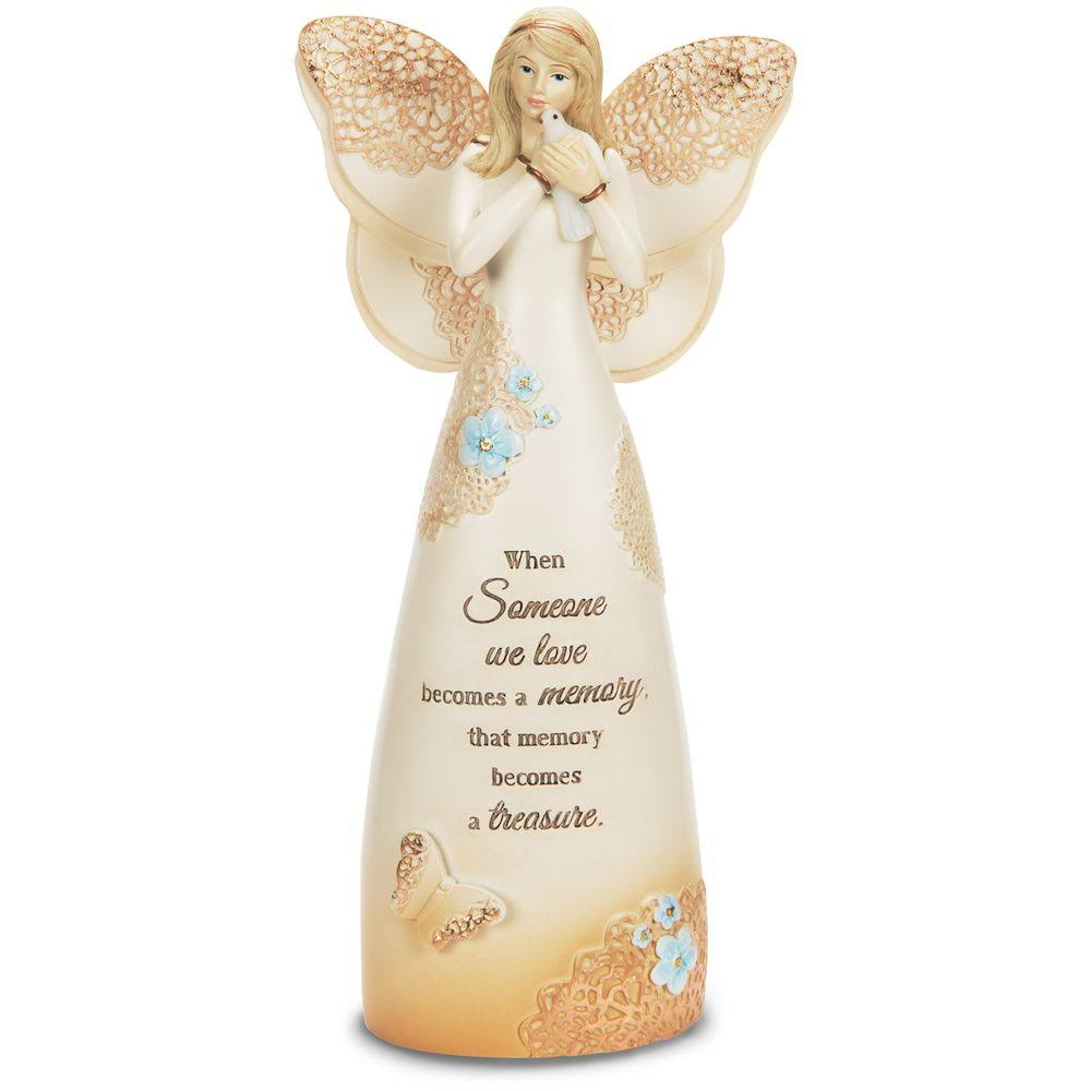 Pavilion Gift Company Light Your Way Memorial Decor - Treasured Memory Angel
