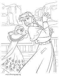 Anna Frozen Coloring Pages 7