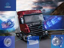 100 Truck Advertising Scania And ARROUND Will Release Ads With Augmented Reality