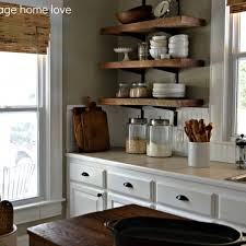 Reclaimed Wood Floating Shelves Kitchen Rustic Diy Barn Bookshelf