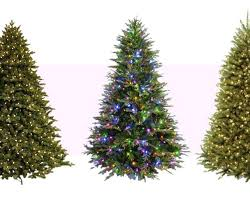 Realistic Artificial Christmas Trees Uk Best 8 Fake In Lit Home Pictures Looking