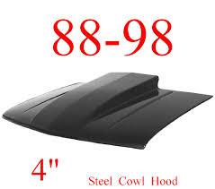 100 Cowl Hoods For Chevy Trucks 8898 GMC 4 Hood Steel Bolt On W Latch