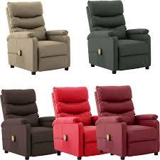 details zu massagesessel elektrisch fernsehsessel relaxsessel kunstleder tv sessel 5 farben