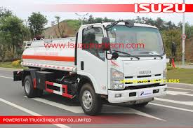100 Fuel Trucks High Efficiency 5000L NPR Refueling Truck TankOil