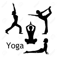 Yoga Pose Clipart 1