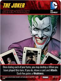 dc comics deck building game forever evil the joker super