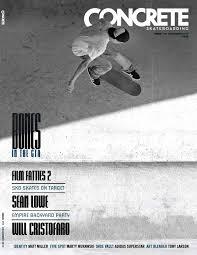 Tech Deck Penny Board Target by Concrete Skateboarding Issue 110 By Concrete Skateboarding