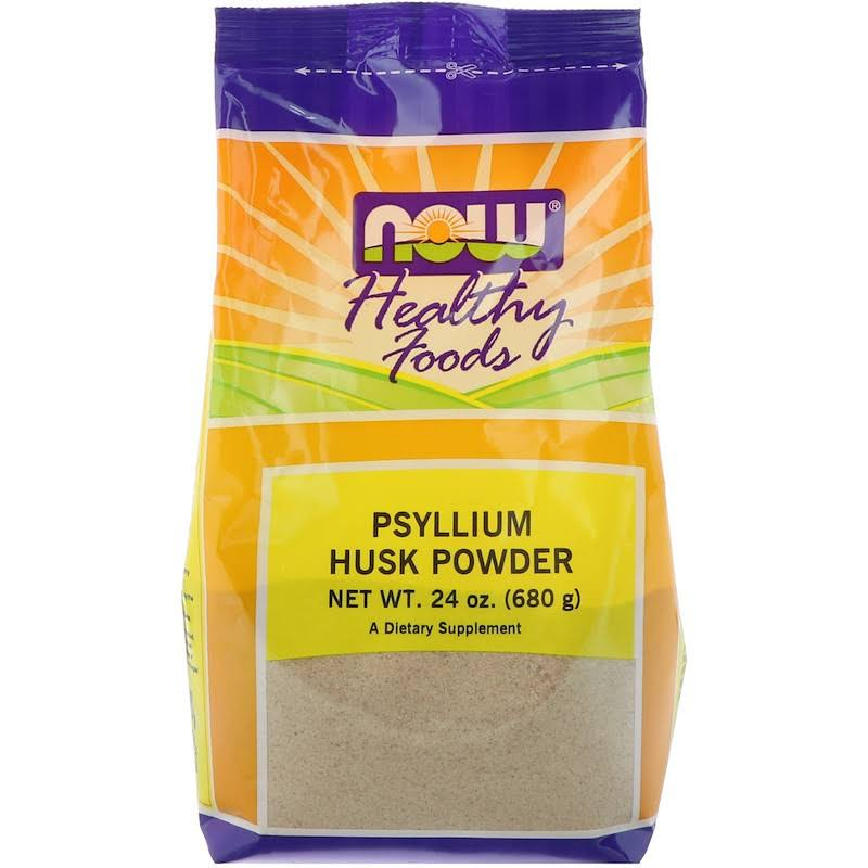 NOW Psyllium Husk Powder - 24oz