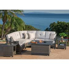 Patio Furniture Conversation Sets With Fire Pit by Fire Pits U0026 Chat Sets Costco