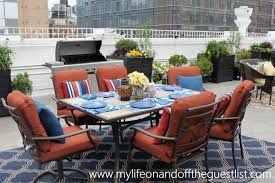 Jaclyn Smith Patio Furniture Umbrella by Jaclyn Smith Patio Dining Sets Gccourt House