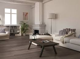 Beautiful Image Of Home Interior Design And Decoration Using Grey Wood Laminate Flooring Astounding