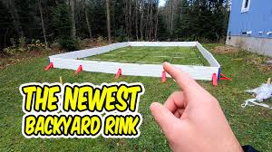 A New Easy Backyard Rink Kit