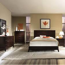 Dark Wooden Furniture Set
