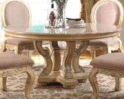 Round Dining Table With Marble Top Italian