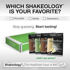 FitYafs Shakeology Taste Sampler