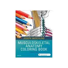 Musculoskeletal Anatomy Coloring Book Paperback Joseph E Muscolino