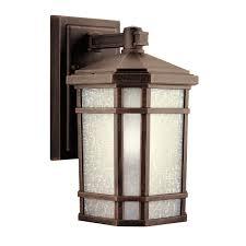 arts and crafts exterior lighting home design