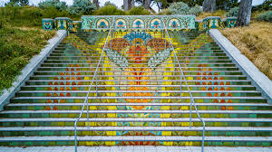 16th Avenue Tiled Steps Project by San Francisco U0027s Tiled Stairway Streets Come Alive In October