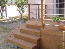comment faire un escalier exterieur en bois evtod