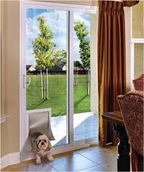 Beautiful Dog Door Patio Sliding Patio Doors With Pet Doors