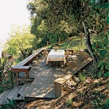 Building A Deck On A Sloped Backyard Landscaping Design For Small Spaces Best Sloped Backyard Deck Deck Plans Hgtv Taming A Slope Sunset Best 25 High Ideas On Pinterest Railings Diy Storage Sloping Sloped Backyard Designs Decks How To Build Floating 3 Steps Under Foot Outdoor Flooring Buyers Guide Make Dynamic Statement With Multilevel Gardening Building 24 X 20 Steep Slope Backyards And Design Ideas Interior