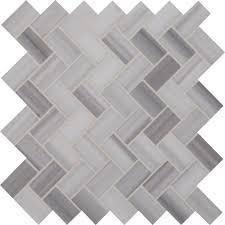 Home Depot Marble Tile Sealer by Ms International Bergamo Herringbone 12 In X 12 In X 10 Mm