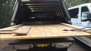 100 Sliding Truck Bed DIY Truck Bed With Plywood Drywall Storage Underneath