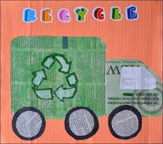 Recycling Truck Craft