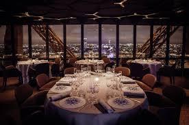 100 Paris By Design Le Jules Verne Restaurant By Patrick Jouin A Romantic