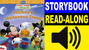 Halloween Picture Books by Mickey Mouse Clubhouse Read Along Story Book Mickey U0027s Halloween