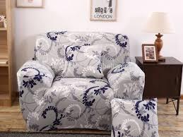 3 Seater Sofa Covers Cheap by Furniture 46 Stylish Sofa Slipcovers Lisa Grey Fabric Sofa