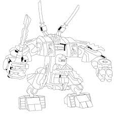 Kai Coloring Pages Images Various Lego