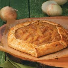 Rustic Fig Onion Pear Tart Recipe
