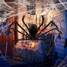 Buy Spider Web With 2 Spiders For Halloween Home Party Decoration