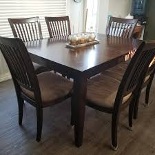 Find More Espresso Dining Table Chairs And Hutch For Sale At Up To