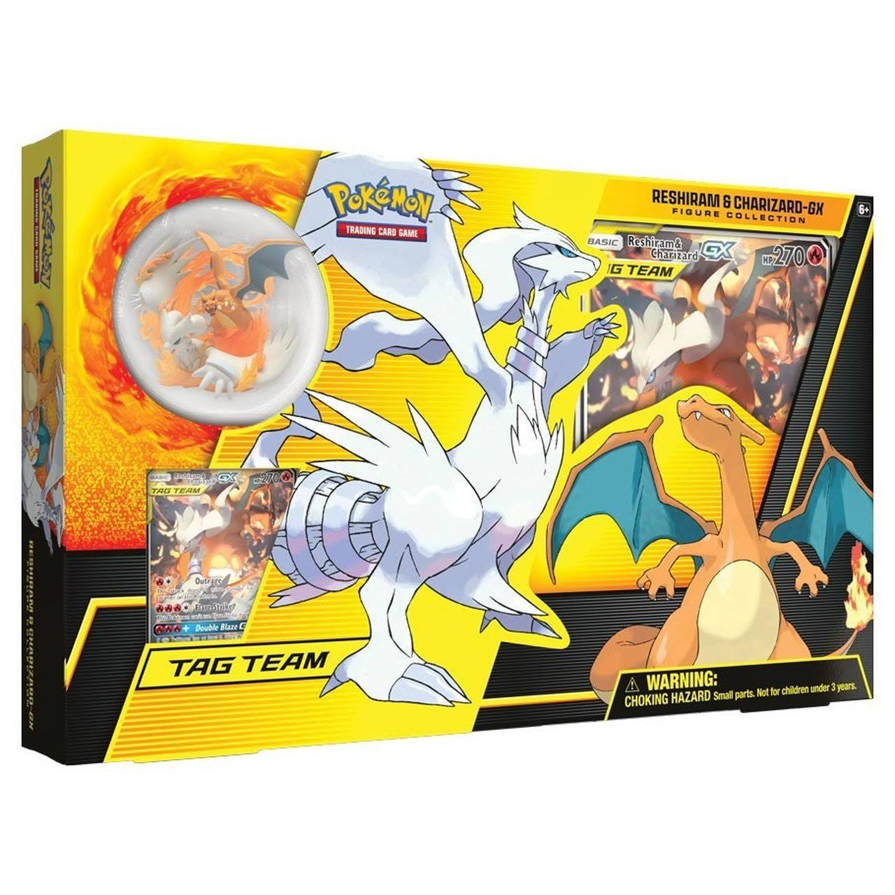 Pokemon TCG: Reshiram and Charizard-GX Figure
