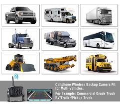 100 Camera Truck Wireless Phone Backup Reversing S RV Trailers