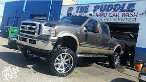 100 Gear Truck Wheels 2212 Chrome Alloy Big Block 44mm Wheels With 35x1250x22 Toyo