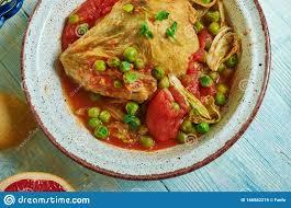 marqa jelbana tunesische küche stockbild bild