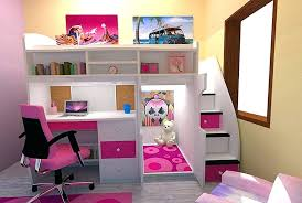 desk back to bunk beds with desk and storage design bunk bed