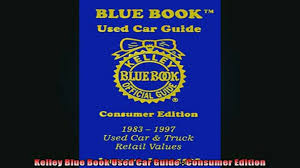 FREE DOWNLOAD Kelley Blue Book Used Car Guide Consumer Edition BOOK ...