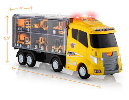 100 Toy Construction Trucks Amazoncom Advanced Play Set Car Carrier Truck S