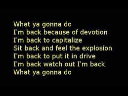Dope I m back lyrics
