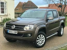 100 Vw Truck Diesel Volkswagen Amarok 20 Pick Up Automatic Leather Highline Full VW History VAT Included In Aveley Essex Gumtree