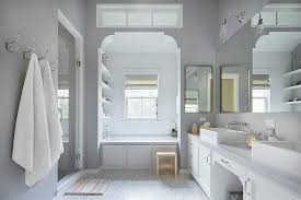 Tiling A Bathtub Alcove by Bathtub Alcove With White Arabesque Tiles Transitional