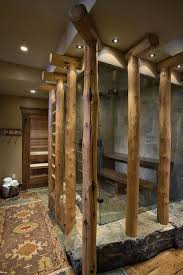 see how a place to sit turns a shower into a spa